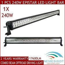 "42"" 240W LED Work Light Bar Flood Spot Combo Off-road Driving Truck UTE SUV BOAT"