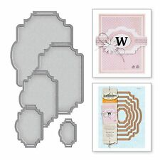 SPELLBINDERS CARD CREATOR cutting dies BELLY BAND ONE Cuttlebug compatible