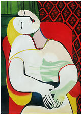 The Dream - Pablo Picasso Cubism Hand Painted Figurative Oil Painting On Canvas