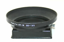 TOKINA AT-X 28-135mm Black Metal Lens Hood. (67mm Push on and Lock)