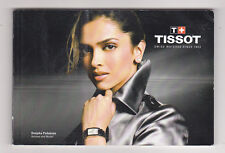 Catalogue montres TISSOT collection 2008-2009  in english, en anglais