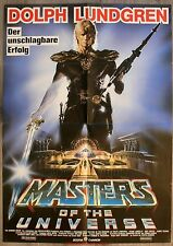 LES MAITRES DE L'UNIVERS Affiche ALLEMANDE / DEUTSCH Movie Poster DOPH LUNDGREN