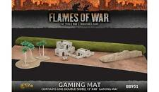 PREORDER -Flames of War: Team Yankee: Terrain: Desert 2 sided Gaming Mat 6' x 4'