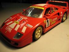 FERRARI F40 1987' SUPERCAR / RACE CAR 1/18 SCALE DIECAST COLLECTIBLE MODEL