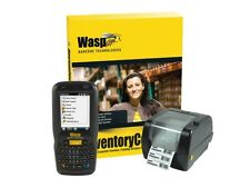Wasp Barcode Inventory Control RF Standard Inventory Tracking Solution with DT60