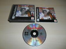 Vandal Hearts Complete PS1 Playstation 1 Game CIB Black Label