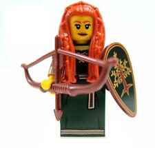 LEGO Series 9 SEALED Forest Maiden Elf Fantasy Woods Maid Marian Hobbit Longbow