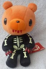 Official Chax GP TAITO Gloomy Bear Black Skeleton Soft Plush Toy Japan Kawaii 9""