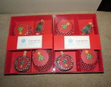 Martha Stewart Cupcake liner Christmas design lot of 2 boxes 50 Liners & toppers