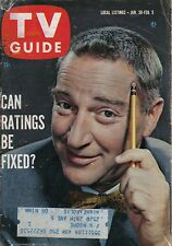 VINTAGE TV GUIDE JANUARY 30 1960 GARRY MOORE TV RATINGS PAT CROWLEY JUNE ALLISON
