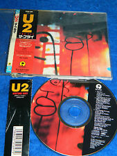 rare CD maxi single U2 the fly 1991 JAPAN polystar PSCD-1182 japon