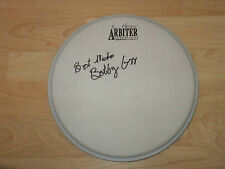 BOOBY ORR DONOVAN   SIGNED DRUMHEAD