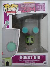 FUNKO POP! Vinyl Invader Zim Robot Gir Vinyl Figure #276 Nickelodeon
