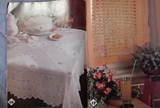 1982 Magic Crochet Doilies Butterfly Table Cloth Curtains Doily Patterns