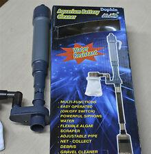 Dophin Aquarium Battery Cleaner Auto Gravel Cleaner