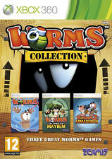 Worms Collection Xbox 360 Game