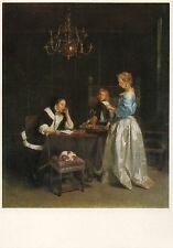 Postcard Gerard Ter Borch The Letter Nat'l Gallery London Unused