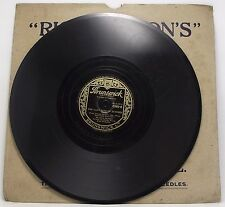 """DEANNA DURBIN : BECAUSE / THE LAST ROSE OF SUMMER 78 rpm 10"""" Record"""