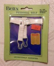 Vintage New Old Stock NOS Beltx Adjustable Personal Sanitary Napkin Belt No. 320