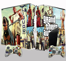 Pop Game Skins Stickers for Xbox 360 Slim Console + 2 Controllers Dustproof