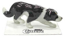 ➸ LITTLE CRITTERZ Dog Miniature Figurine Border Collie Hemp