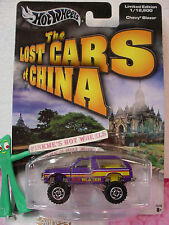 2005 Hot Wheels☆Lost Cars China CHEVY BLAZER 4X4∞Purple☆LE 1/12500