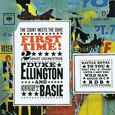 First Time! The Count Meets the Duke by Count Basie/Duke Ellington *New CD*