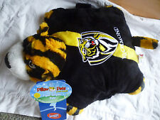 AFL- RICHMOND TIGERS TIGER STRIPES DYER Footy Plush Pillow Pet 30cmBNWT Official