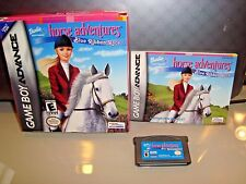 Barbie Horse Adventures: Blue Ribbon Race (Nintendo Game Boy Advance/GBA, 2003)
