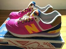 New with box New Balance 574 Women lifestyle running shoes, Size 6.5 WL574EXB