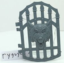 MOTU, Snake Mountain Dungeon Door, Masters of the Universe, Gate, Parts, Piece