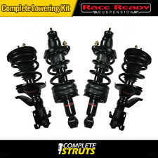 "2002-2003 Honda Civic Complete Struts & Shocks w/ Springs Lowering Kit 1.5"" Drop"