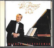 CD ALBUM 16 TITRES--RICHARD CLAYDERMAN--LES PIANOS D'OR--1990
