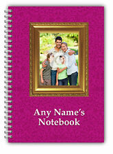 Personalised A5 Notebook Your own photo
