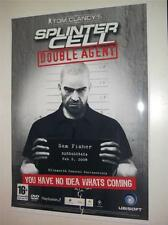 Tom Clancy's Splinter Cell: Double Agent ~ A3 Size Poster / Print ~ NEW