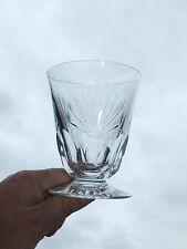 + Verre ou Vase en Cristal taillé signé Christofle +