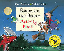 Julia Donaldson Activity Book - ROOM ON THE BROOM ACTIVITY BOOK - NEW