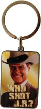 Dallas Keyring. Who Shot J R Metal Keychain Fob Tv Show Retro Gift SALE ITEM