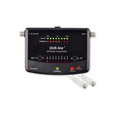 SAT Finder PROFI Satfinder Messgerät Bluetooth 8 Satelliten DUR-line® SF 4000 BT