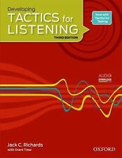 TACTICS FOR LISTENING DEVELOPING: STUDENT'S BOOK 3RD EDITION Bk. 2 by Grant Trew
