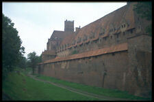 534026 Middle Ages Walls Of Malbork Castle Poland A4 Photo Print
