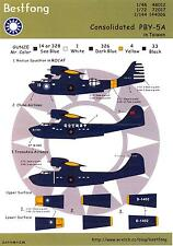 Bestfong Decals 1/48 CONSOLIDATED PBY-5A CATALINA in Taiwan