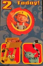 Bob the Builder 2nd Birthday Pop Up Card NEW Clintons Luxury Official
