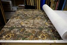 "REALTREE XTRA BULL DENIM 11 OZ COTTON TWILL HUNTING CAMO FABRIC 63""W CAMOUFLAGE"