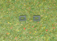 VINTAGE ACTION MAN 40th LOOSE GREEN US BRITISH HELMET CLIPS