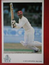 POSTCARD SPORT KEITH ARTHURTON - WEST INDIES INTERNATIONAL CRICKET COLLECTION