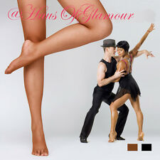Quality Fishnet Dance Tights Pantyhose in Natural, Black & White-Plain or Seamed