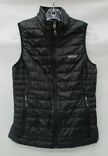 Patagonia Womens Nano Puff Vest 84247 Black Size Extra Small