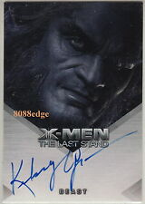"2006 X-MEN THE LAST STAND AUTOGRAPH AUTO: KELSEY GRAMMER as BEAST ""FRASIER/BOSS"""