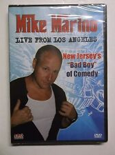 Mike Marino: Live from Los Angeles (DVD, 2010) *BRAND NEW* Comedy OOP Stand Up